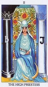 Tarot Explained: The High Priestess, Major Arcana Card – Simon Altman, BHSc (Acupuncture) and Esoteric acupuncturist 1